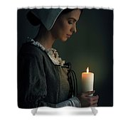 Historical Maid Servant  Shower Curtain