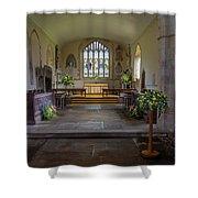 Holy Cross Church, Ramsbury Shower Curtain