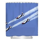 Iaf Acrobatic Team Shower Curtain