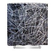 3. Ice Pattern 2, Corbridge Shower Curtain