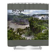 Iguazu Falls - South America Shower Curtain