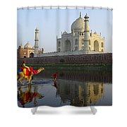 India's Taj Mahal Shower Curtain