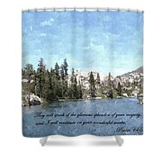 Inspirations 1 Shower Curtain