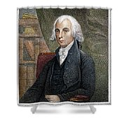 James Madison (1751-1836) Shower Curtain