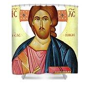 Jesus Teaching Shower Curtain