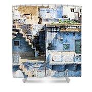 Jodhpur Blue City Shower Curtain