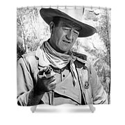 John Wayne (1907-1979) Shower Curtain