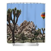 Joshua Landing Shower Curtain