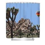 Joshua Landing Shower Curtain