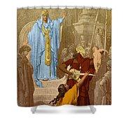Judgment Of Solomon Shower Curtain