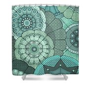 Just Flowers Shower Curtain