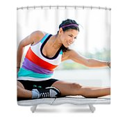 Kayla Itsines Review Shower Curtain