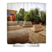 Khorla China Shower Curtain
