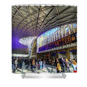 Kings Cross Rail Station London Shower Curtain