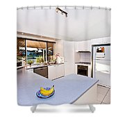 Kitchen Shower Curtain