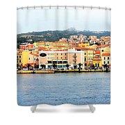 La Maddalena -sardinia Shower Curtain