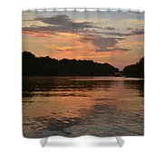 Lake Wedowee Alabama Shower Curtain