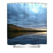 Landscape Portrait Shower Curtain