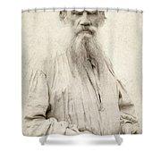 Leo Tolstoy (1828-1910) Shower Curtain