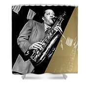 Lester Young Collection Shower Curtain