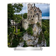 Lichtenstein Castle - Baden-wurttemberg - Germany Shower Curtain