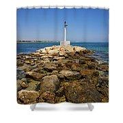Liopetri Beach Shower Curtain