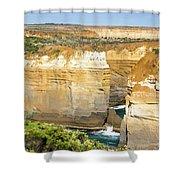 Loch Ard Gorge Shower Curtain
