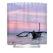 Lovina - Bali Shower Curtain