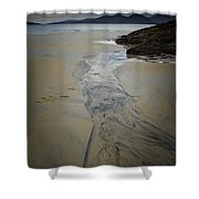 Luskentyre, Isle Of Harris Shower Curtain