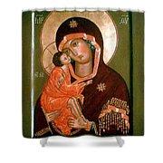 Madonna Religious Art Shower Curtain
