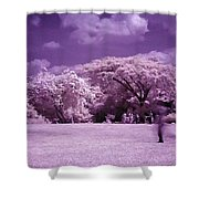 Magic Garden  Shower Curtain
