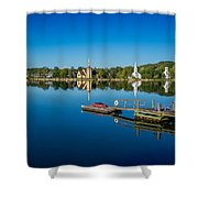 Mahone Bay Shower Curtain