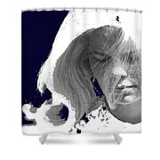 Margie In Repose Tucson Arizona 1969-2012 Shower Curtain