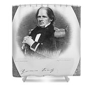 MATTHEW FONTAINE MAURY Shower Curtain by Granger