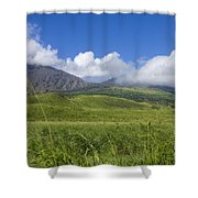 Maui Haleakala Crater Shower Curtain