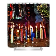 Mayan Ceremony Shower Curtain