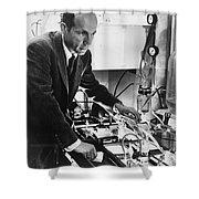 Melvin Calvin, American Chemist Shower Curtain