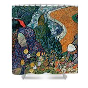 Memory Of The Garden At Etten Shower Curtain