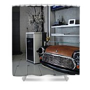 Mini 007 Shower Curtain