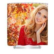 Model Shower Curtain