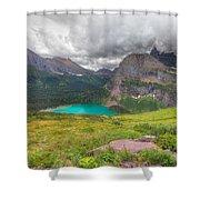 Montana-glacier National Park-grinnell Glacier Trail Shower Curtain
