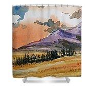 Montana Landscape Shower Curtain