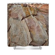 Morning In Valley Of Fire State Park Shower Curtain