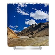 Mountains Of Ladakh Jammu And Kashmir India Shower Curtain