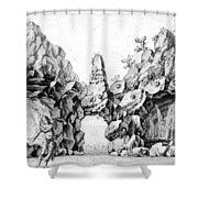 Mozart: Magic Flute, 1791 Shower Curtain