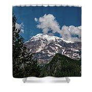 Mt Rainier Shower Curtain