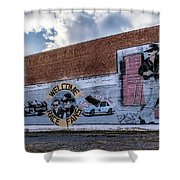 Mural - Downtown Bristol Tennessee/virginia Shower Curtain