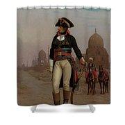 Napoleon In Egypt Shower Curtain