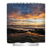 Native Landscape Shower Curtain