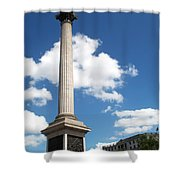 Nelsons Column Shower Curtain